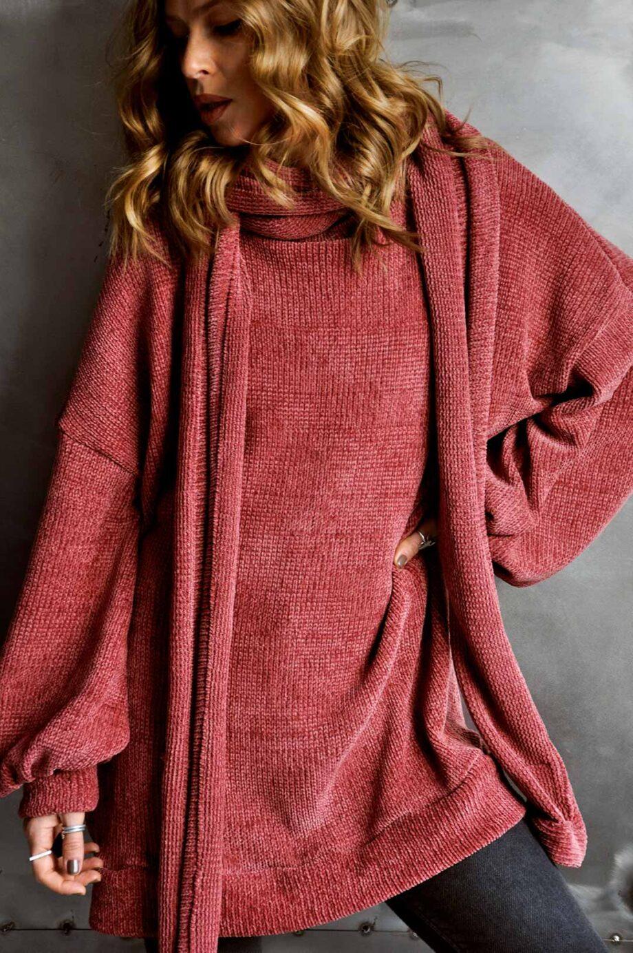 DAIRE midi sweater